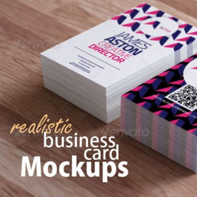 Photorealistic Business Card Mockups